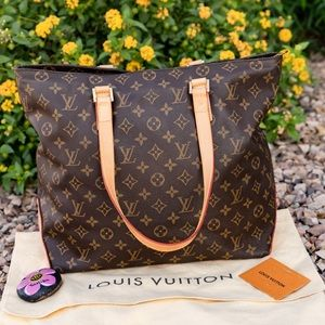 🌸LIKE NEW 🌸 Louis Vuitton Cabas Mezzo tote MM